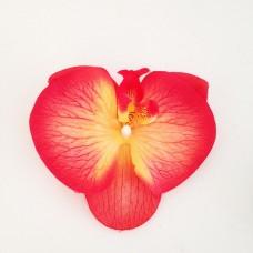 Presilha Cabelo Orquídea Vermelha
