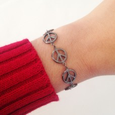 Pulseira Peace and Love
